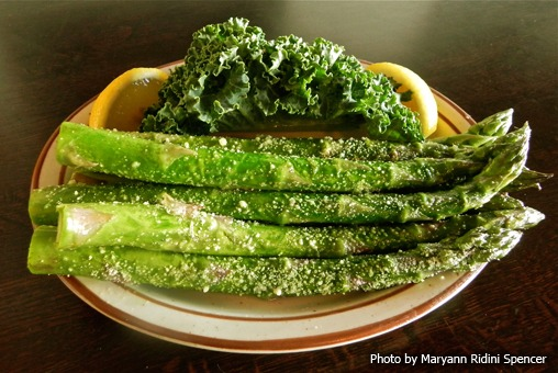 Winchester's Grilled Asparagus