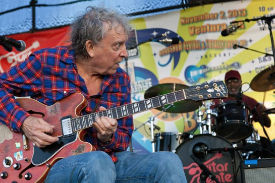 Elvin Bishop plays at The Blues at the Beach Music Festival
