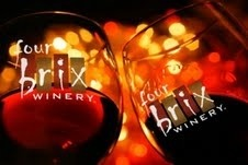 Four Brix wine glasses
