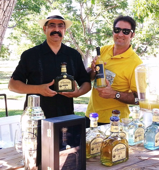 Dr. Adolfo Murillo of Tequila Alquimia and James Carling of Ventura Limoncello Company